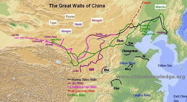 google maps great wall of china