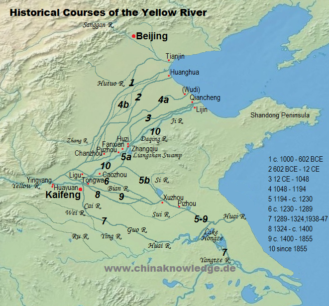 The Yellow River 黄河 (www.chinaknowledge.de)
